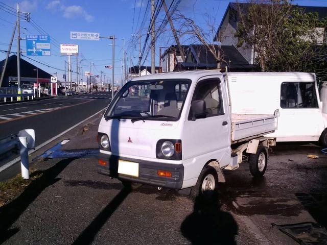 三菱 ダンプ 4WD