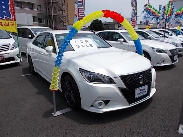 トヨタ アスリートS ブラックスタイル ナビ バックモニター ETC