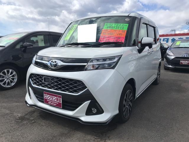 トヨタ タンク カスタムG LEDヘッドランプ シートヒーター クルコン オートエアコン