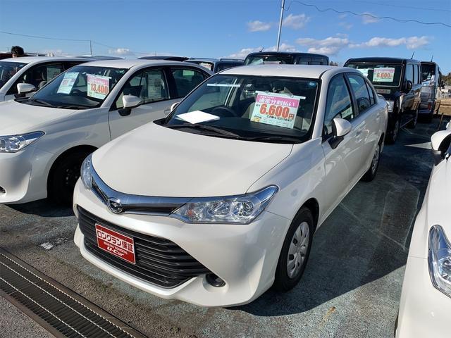 トヨタ 1.3X ナビ オーディオ付 AC CVT セダン