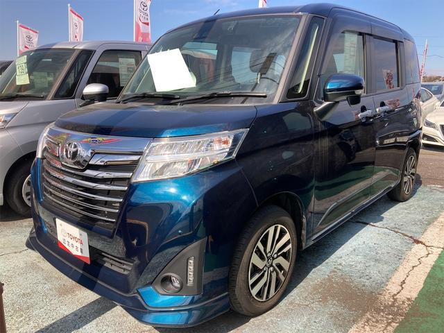 トヨタ ルーミー カスタムG Sヒーター 両側自動ドア クリアランスソナー スマートキ- CD Bカメラ
