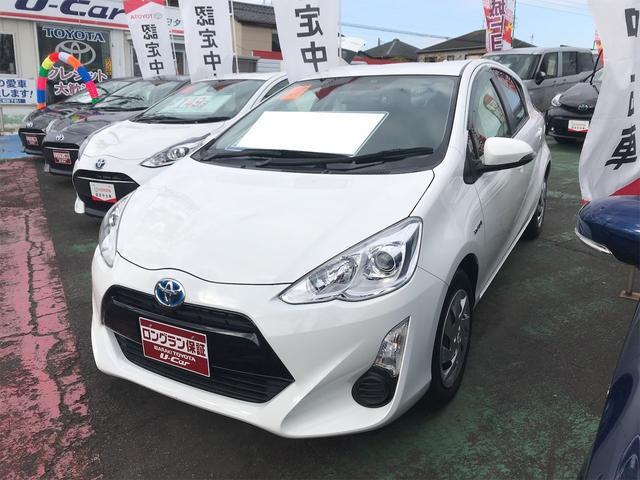 トヨタ S ETC装備 アイドルストップ ドライブレコ-ダ- Wエアバック 記録簿付き