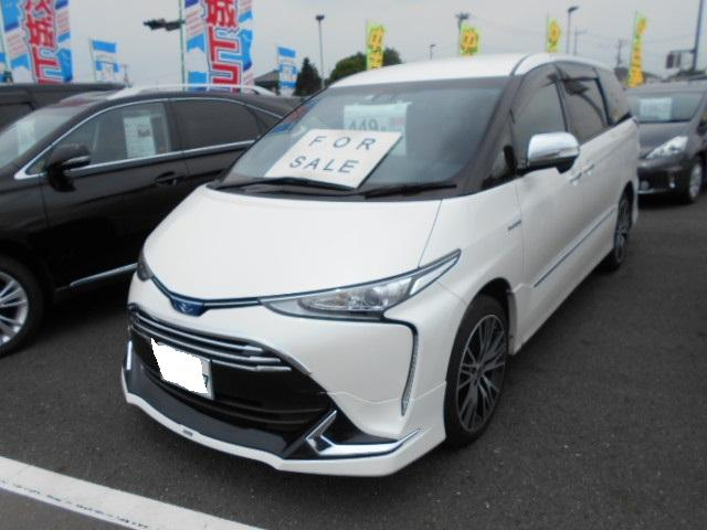 トヨタ アエラス プレミアム-G 4WD パワースライドドア