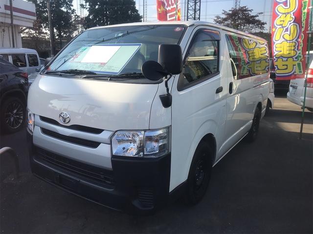 トヨタ ロングDX エアコン オーディオ付 AT ホワイト