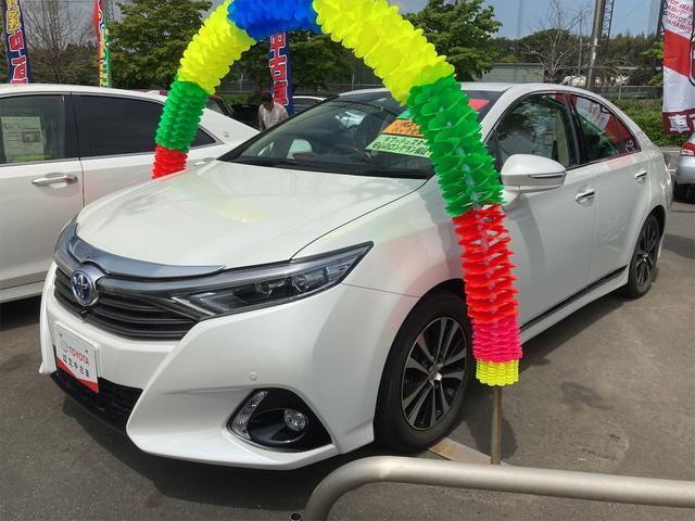 トヨタ SAI G AW オーディオ付 ブルーレイ クルコン LED AC CVT パワーウィンドウ スマートキー 5名乗り 修復歴無