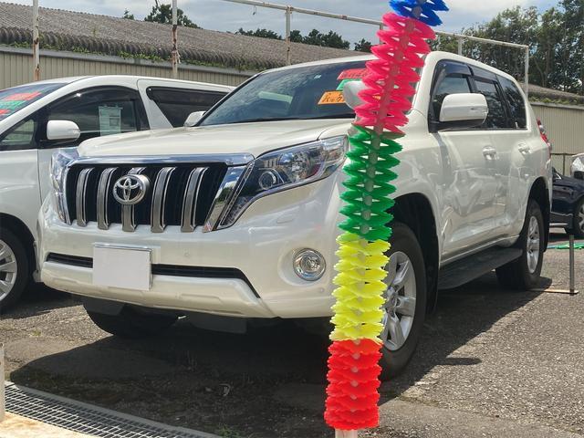 トヨタ ランドクルーザープラド TX Lパッケージ 4WD 盗難防止装置 シートヒーター スマートキー レーダークルコン