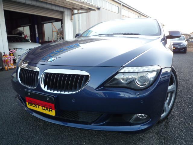 BMW 630i サンルーフ 赤革シート
