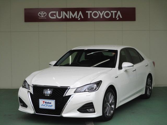 トヨタ アスリートG  試乗車・本革シート・プリクラ・クルコン