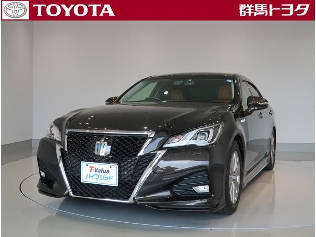 トヨタ アスリートG ジャパンカラーセレクション 本革シート