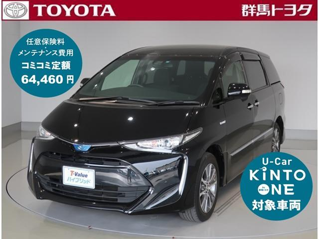 トヨタ アエラス SDナビ トヨタセーフティーセンス搭載 ETC