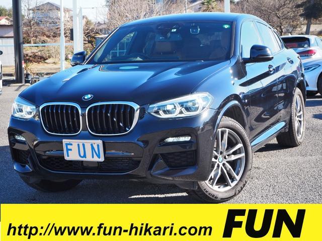 BMW X4 xDrive 20d Mスポーツ ワンオーナー禁煙車 走行4000キロ 360度セーフティ 本革シート 3Dビューカメラ HUD ワイドナビ 純ドラレコ