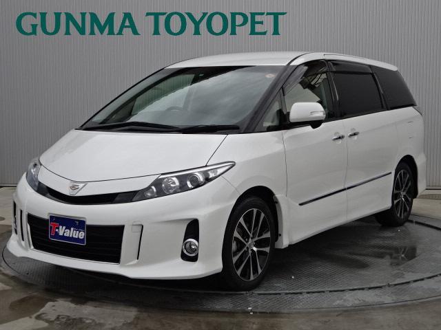 トヨタ アエラス プレミアムエディション ツインモニター T-V