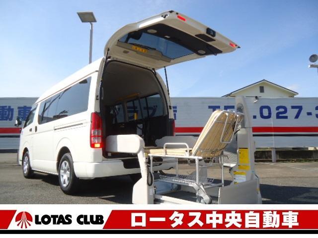 トヨタ ウェルキャブBタイプロング車椅子仕様車リフトタイプ