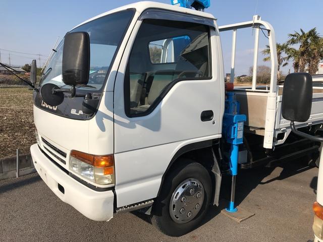 いすゞ エルフトラック 4ダンクレーン トラック AC MT ラジコン