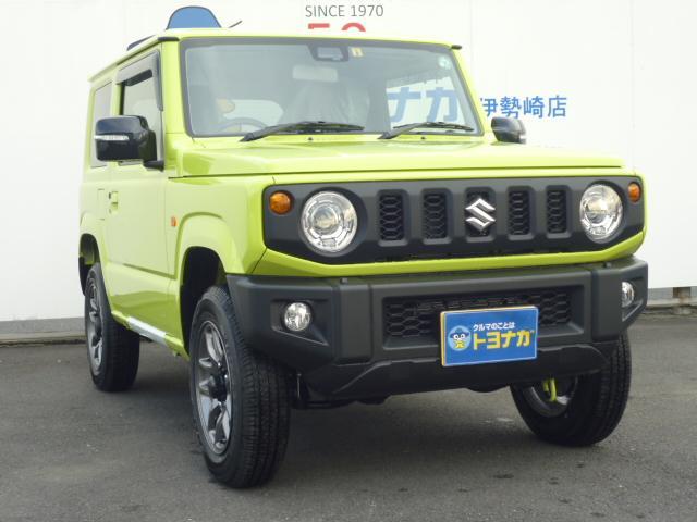 スズキ ジムニー XC 4WD フロアマット ドアバイザー LEDヘッドライト スズキセーフティーサポート ステアリングスイッチ シートヒーター