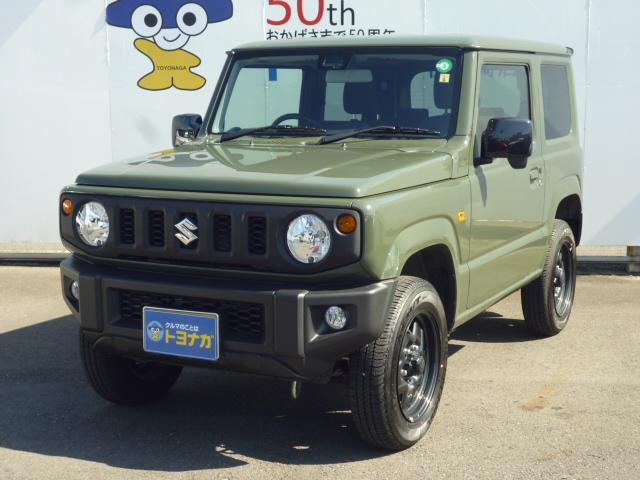 XL 4AT 4WD ジャングルグリーン シートヒーター キーフリー 新品ナビTV付き(1枚目)