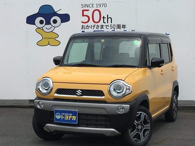 スズキ Xターボ ワンオーナー 4WD 全方位モニター付ナビゲーション Bluetoothオーディオ対応 前席シートヒーター ディスチャージヘッドライト ETC キーフリー プッシュスタート デュアルカメラブレーキ