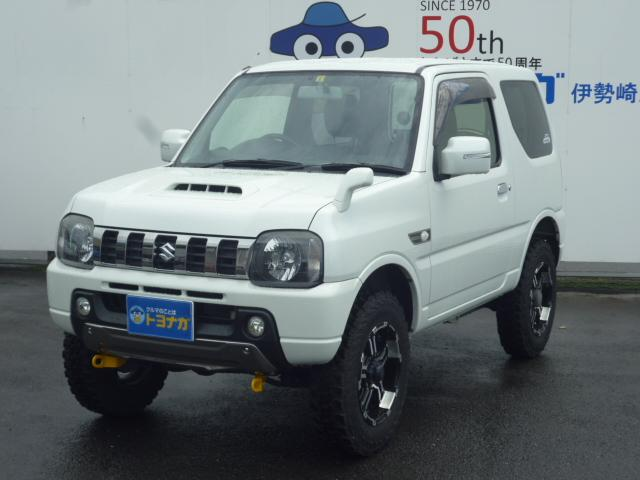 スズキ ランドベンチャー 4WD ターボ 社外メモリーナビ リフトアップ レイズアルミホイール 専用革シート シートヒーター