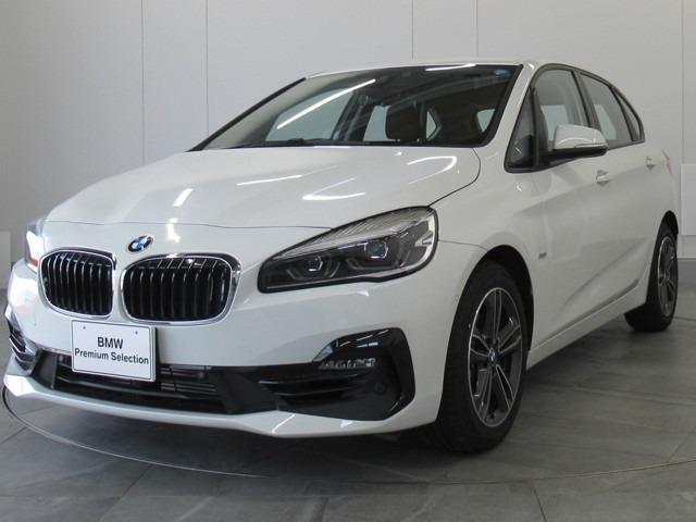 BMW 218iアクティブツアラー スポーツ認定中古車弊社デモカー