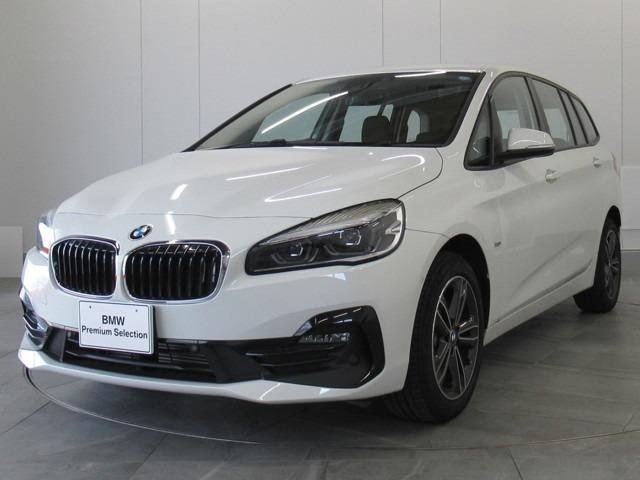 BMW 218dグランツアラー スポーツ認定中古車弊社デモカー