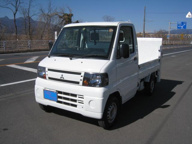 三菱 ベースグレード エアコン パワステ オートマ ホワイト