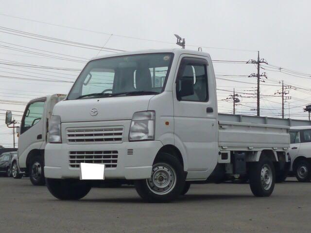 マツダ KCスペシャル 3方開 4WD 5速マニュアル ホワイト