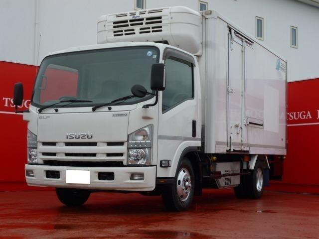 いすゞ エルフトラック 冷凍冷蔵車ワイドロング Topre冷凍機 温度設定3℃