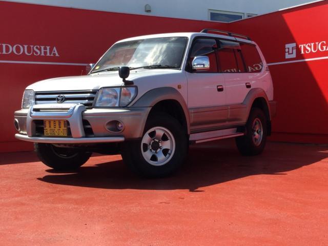 トヨタ ランドクルーザープラド TZ サンルーフ ディーゼル ETC 4WD