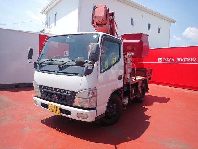 三菱ふそう キャンター  高所作業車 2ドア タダノ AT-100 PS PW AC 軽油
