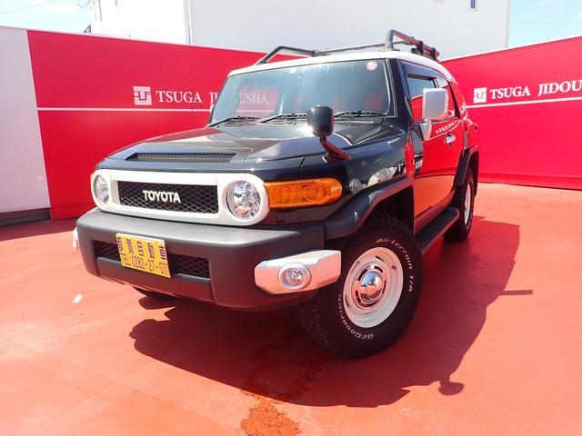 トヨタ FJクルーザー ベースグレード バックモニター ETC フルセグTV 社外ナビ キーレス