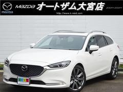 MAZDA6ワゴンXD Lパッケージ 展示車 サンルーフ BOSE 本革シート
