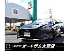 MAZDA3ファストバックXバーガンディ セレクション 展示車 360°セーフティPKG BOSE 本革パワーシート LEDオートライト 地デジ 衝突軽減ブレーキ
