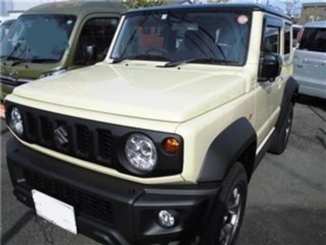 スズキ ジムニーシエラ JC LEDヘッドライト/アルミホイール/2トーンルーフ車