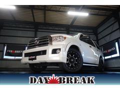 セコイアプラチナム レッドロックレザー 4WD 新車並行