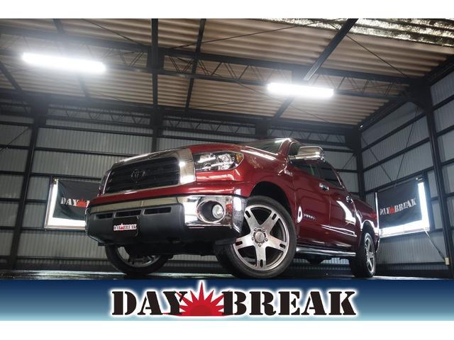 米国トヨタ クルーマックス SR5 TRD鍛造22インチ
