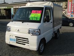 ミニキャブトラックVタイプ幌付 4WD 5MT エアコン パワステ