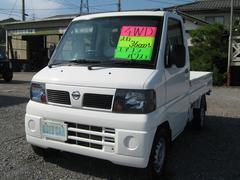 クリッパートラックSD 4WD 5MT エアコン パワステ 全塗装仕上済