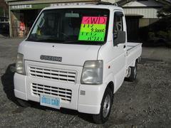 キャリイトラックKC 4WD AT エアコン パワステ 荷台塗装済