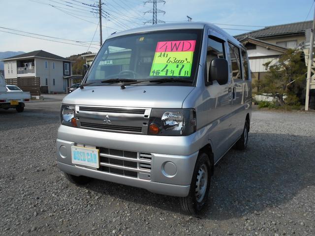 三菱 CL 4WD 4AT エアコンパワステ キーレス