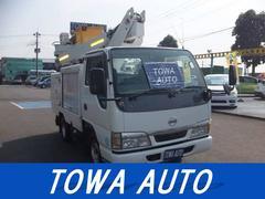 アトラストラック高所作業車7.2メートル 1人乗り用 DVDナビ付き