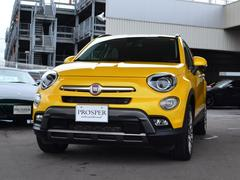フィアット 500Xイエロークロス 国内限定140台 4WD 右ハンドル D車