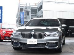 BMW740d xDrive Mスポーツ 右ハンドル ディーラー車