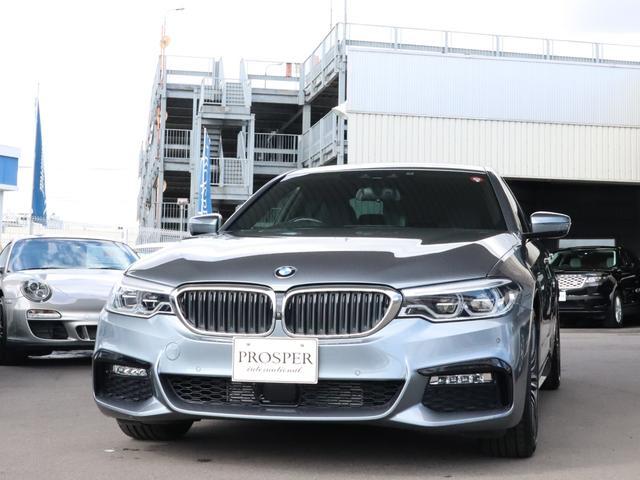 BMW 523d Mスポーツ 右ハンドル ワンオーナー ディーラー車