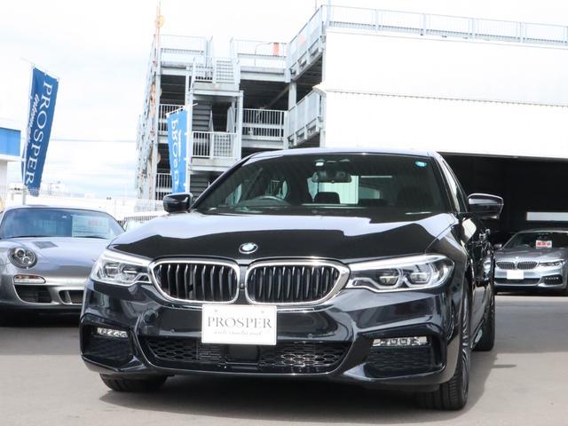 BMW 523d Mスポーツ イノベーションP 右ハンドル D車