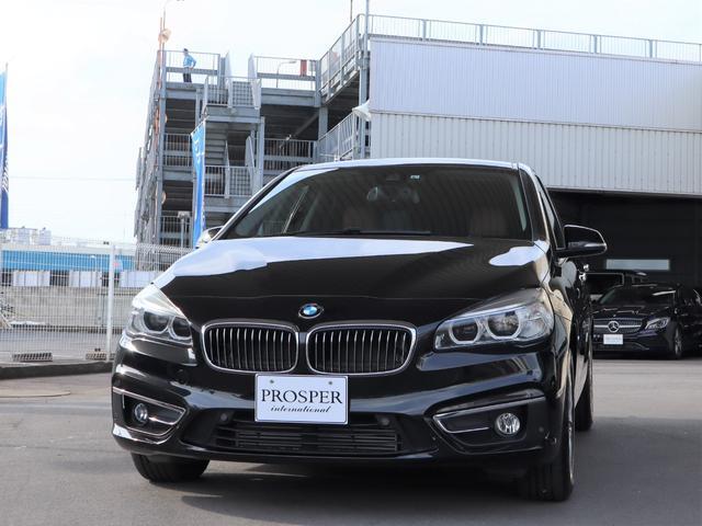 BMW 218iアクティブツアラー ラグジュアリー コンフォートP パーキングサポートPKG 右ハンドル ディーラー車