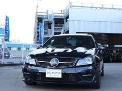 CクラスC63 エディション507 AMGトラックPKG 右ハンドル ディーラー車 (NA最終モデル)