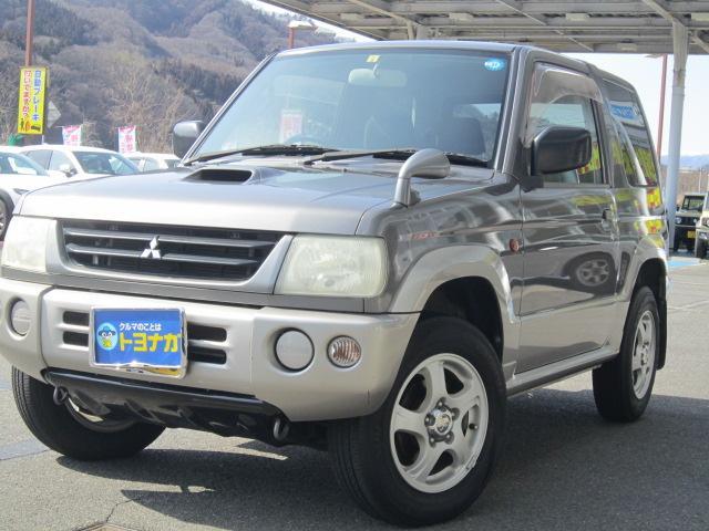 三菱 VRターボ 4WD キーレス 純正アルミ ワンオーナー