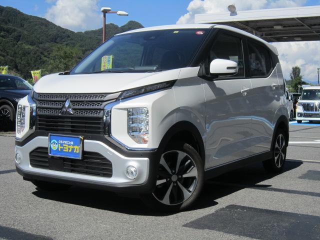 三菱 eKクロス Tターボ 4WD 9インチナビTV アラウンドビュー LED デジタルルームミラー シートヒーター ETC e‐Assist インテリキー オートエアコン