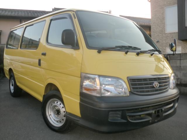 トヨタ デラックス ロングディーゼルターボ幼児バス