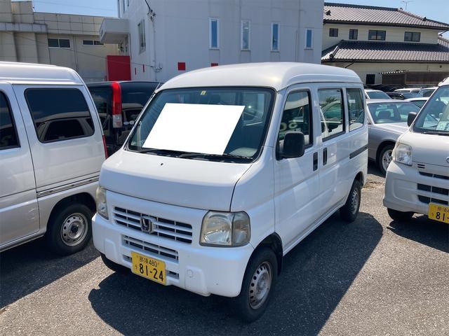ホンダ  軽バン スライドドア エアコン 運転席エアバッグ